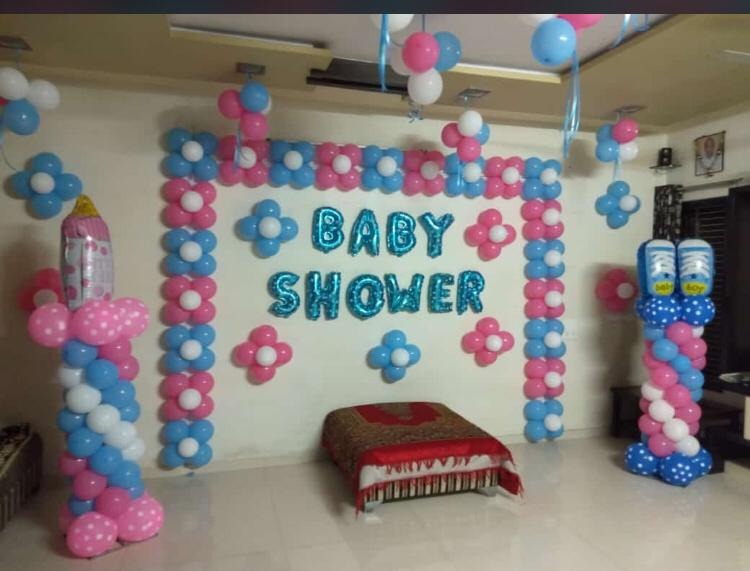 Baby Shower Decoration with Balloons